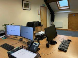 Quantock Ecology Office Inside