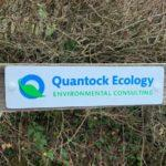 Quantock Ecology Sign Outside Square